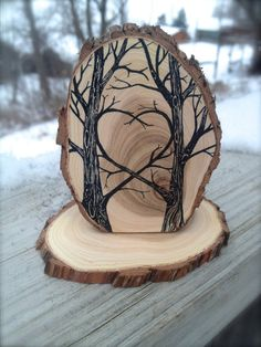 Tree Cake Topper for your nature inspired by JenniferLenoxVT