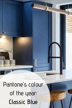 We love Pantone's colour of the year 2020 Classic Blue and here are Hall's Retails tips and design ideas on how to use Classic Blue in your home. Pantone Matching System, Diy Store, Pms, Color Of The Year, Pantone Color, Coral, Diy Projects, Deep, Colour