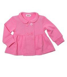 Hot Pink Toddler Bodice Jacket