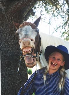 sharing a good laugh. Friends Laughing, People Laughing, Smiling Animals, Funny Animals, Happy Smile, Make Me Smile, Happy Faces, Laughter The Best Medicine, I Love To Laugh
