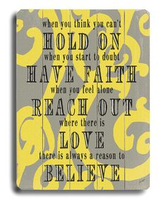 When you think you can't...hold on...have faith...reach out...believe #Success #motivation  #Heartaches&Hardships
