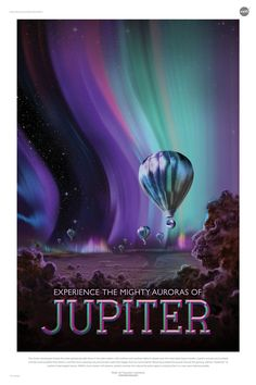 Nasa Jupiter Retro Poster - NASA, one of the agencies on the forefront of space travel, is daring to dream. Last year, the jet propulsion Laboratory (JPL) designed a set of posters known as The Exoplanet Travel Bureau Poster Series