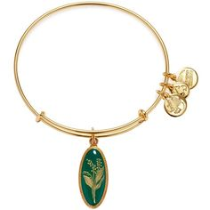 Alex and Ani Purity of the Heart Lily of the Valley Expandable Wire... ($38) ❤ liked on Polyvore