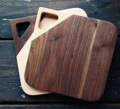 Diy Cutting Board, Wood Cutting Boards, Diy Wood Projects, Wood Crafts, Wood Plans, Wooden Diy, Woodworking Projects, Woodworking Classes, Youtube Woodworking