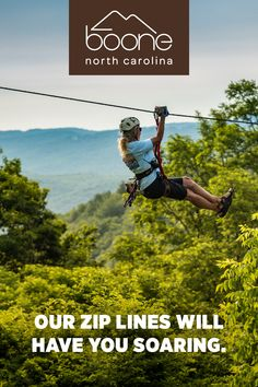 Browse our listings for things to do Boone, North Carolina to help you plan your trip. Find hotels, actvities, restaurants and book your trip today. Boone North Carolina, Zip Lining, The Perfect Getaway, Short Trip, Find Hotels, Outdoor Recreation, Plan Your Trip, Vacation Spots