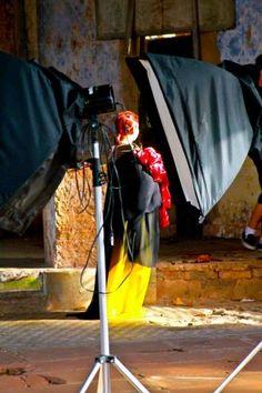 Aurora da minha vida: Bastidores do ensaio Rosa Mística