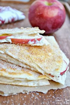 ... quesadillas apple cheesecake breakfast quesadillas quick easy and