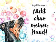 Freebie: Hunde - Grußkarten für Email, Facebook & Co