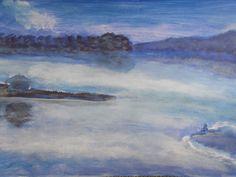 """Celestial Mind"" Painted By Fadi Abu-Deeb"