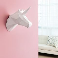 PAPA / Home Decoration DIY Paper Art - Unicorn Gold - - Amazon.com