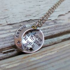 I Love You To The Moon And Back Pendant - http://www.notonthehighstreet.com/twistedtypist/product/i-love-you-to-the-moon-and-back-pendant