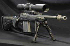 """Ruger Scout Custom. (Not a big fan of the scope though. A long eye relief """"scout scope"""" would be better IMO)"""