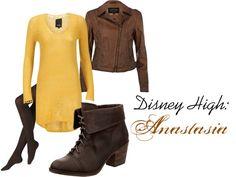 """Disney High School: Anastasia"" by imissyoucupcake on Polyvore"