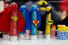 Fazendo Scrap: Festa Super-Herois para o Miguel