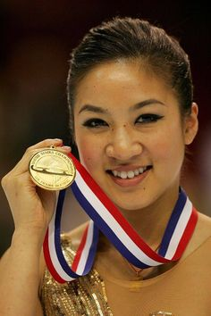 Michelle Kwan * Olympic figure skater who won Silver And Bronze medals, but never a Gold Medal.