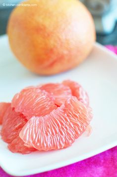 How to Peel a Grapefruit by kitchenconfidante #Grapefruit #kitchenconfidante