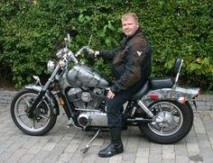 """DH and the """"Rat"""", his Honda Shadow Honda Shadow 1100, Scrambler, Bobber, Chopper, Rat, Motorcycles, Bike, Vehicles, Bicycle"""