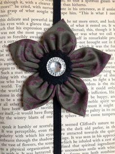 Flower headband/bookmark on Etsy, $10.00