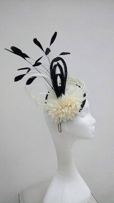 Noir Ivoire Bibi. Mariage Hatinator mère de la mariée Hat
