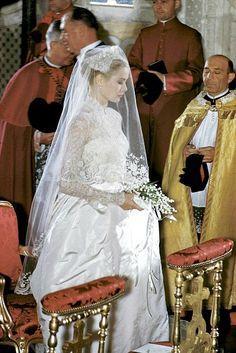 19 de abril de 1956, casamento de Grace Kelly.