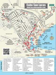 Cabo San Lucas Map Cabo San Lucas, Los Cabos, Baja California Sur, México. Explore Cabo San Lucas at your leisure and without the fear of getting lost, thanks to this Los Cabos Guide map of Cabo San Lucas. The Cabo San Lucas map includes detailed information about city highlights—the Puerto Paraiso and Luxury Avenue shopping …