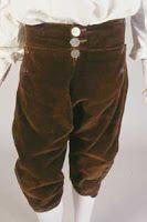 1770-tal, byxor, knäbyxor.