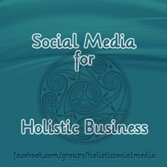 New #socialmedia group starting Monday August 5, 2013! If you are a holistic entrepreneur, we'd love to have you join us!
