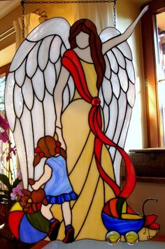 Wow, what a statement I get from this Stained Glass Angel, Stained Glass Christmas, Stained Glass Windows, Tiffany Art, Tiffany Glass, Stained Glass Projects, Stained Glass Patterns, Angel Theme, Art Plastique