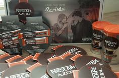 Być ambasadorem kawy Nescafe Azera to sama przyjemność. :) Zawartość przesyłki.