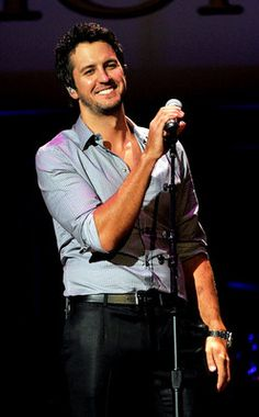 Luke Bryan.  His concert was awesome.
