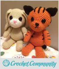 EDITOR'S CHOICE (10/05/2015) Nibbles & Stripes by JennKMB (Sly n' Crafty) View details here: http://crochet.community/creations/3750-nibbles-stripes