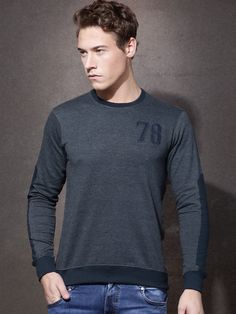 Roadster Solid Men's Round Neck T-Shirt