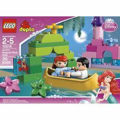 LEGO duplo Princess Ariel Boat (she has the Ariel castle already)