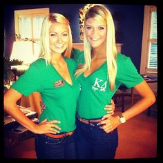 Love these classy Kappa Delta recruitment outfits