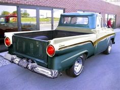 1957 Ford truck,