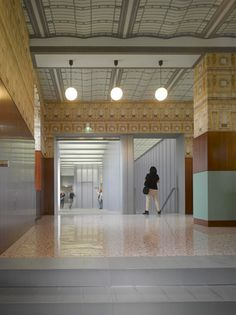 Bar Luce by Wes Anderson at Fondazione Prada in Milan