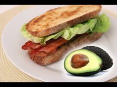 Avocado BLT Recipe - Laura Vitale - Laura in the Kitchen