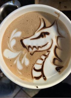Dragon Latté