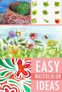 From sweeping sunsets to lovely florals, there are watercolor painting ideas to suit all sorts of styles in this roundup. These five ideas are bound to give you inspiration for creating the watercolor painting of your dream, at any skill level.