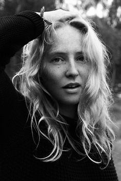 Lissie...Story and photo by 1883 digital magazine - straight on portrait, I haven't seen many album covers or women looking directly at the camera, head on