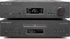 High-End Studios - Cambridge Audio Azur CD-Player & Preamplifier Cambridge Audio, Black Singles, High End Audio, Hifi Audio, Home Cinemas, Digital Audio, Audio Equipment, Computer Science, Theater Rooms