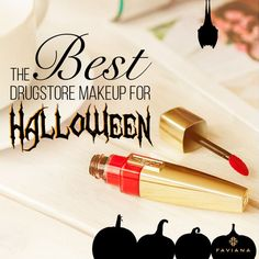 Halloween is almost here! We have gathered a list of the best drugstore makeup to help you complete your look!