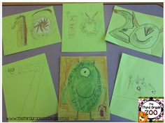 Monster Number Art! Click on the pin for the directions.