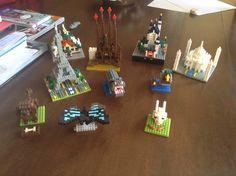 My Nanoblock's Collection