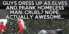 This is probably the best kind of prank… Like this.