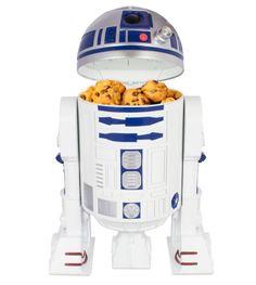 Galletero R2-D2 Star Wars, con sonido  Galletero con la forma del droide R2-D2 con sonido, perteneciente al universo Star Wars.