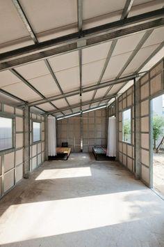 Estructuras de acero de casa económica anti sismica