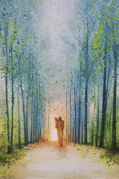 The Shepherd's Path is a painting that depicts Jesus Christ walking down a path while holding a lost sheep - Yongsung Kim Arte Lds, Christian Artwork, Christian Artist, Christian Paintings, Holy Art, Site Art, Pictures Of Jesus Christ, Lds Art, Jesus Painting