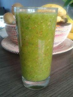 Tropische groene smoothie