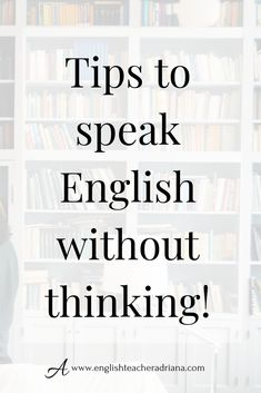 Learn English 748230925574049480 - Train your brain to think fast when speaking in English using these easy steps. Click the link below to watch the full video lesson Source by Improve English Speaking, English Learning Spoken, Teaching English Grammar, English Writing Skills, English Vocabulary Words, Learn English Words, English Phrases, English Language Learning, English Idioms